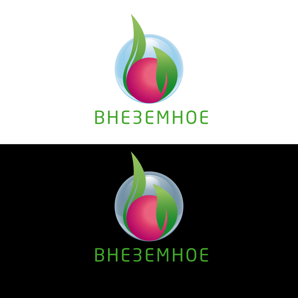 "Логотип и фирменный стиль ""Внеземное"" фото f_3735e7783cb60a18.jpg"