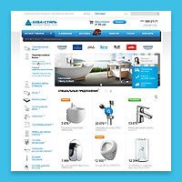 АКВА-СТИЛЬ. Интернет-магазин сантехники