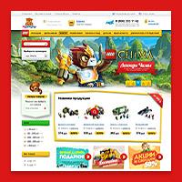 Интернет-магазин детских товаров. Конструкторы ЛЕГО