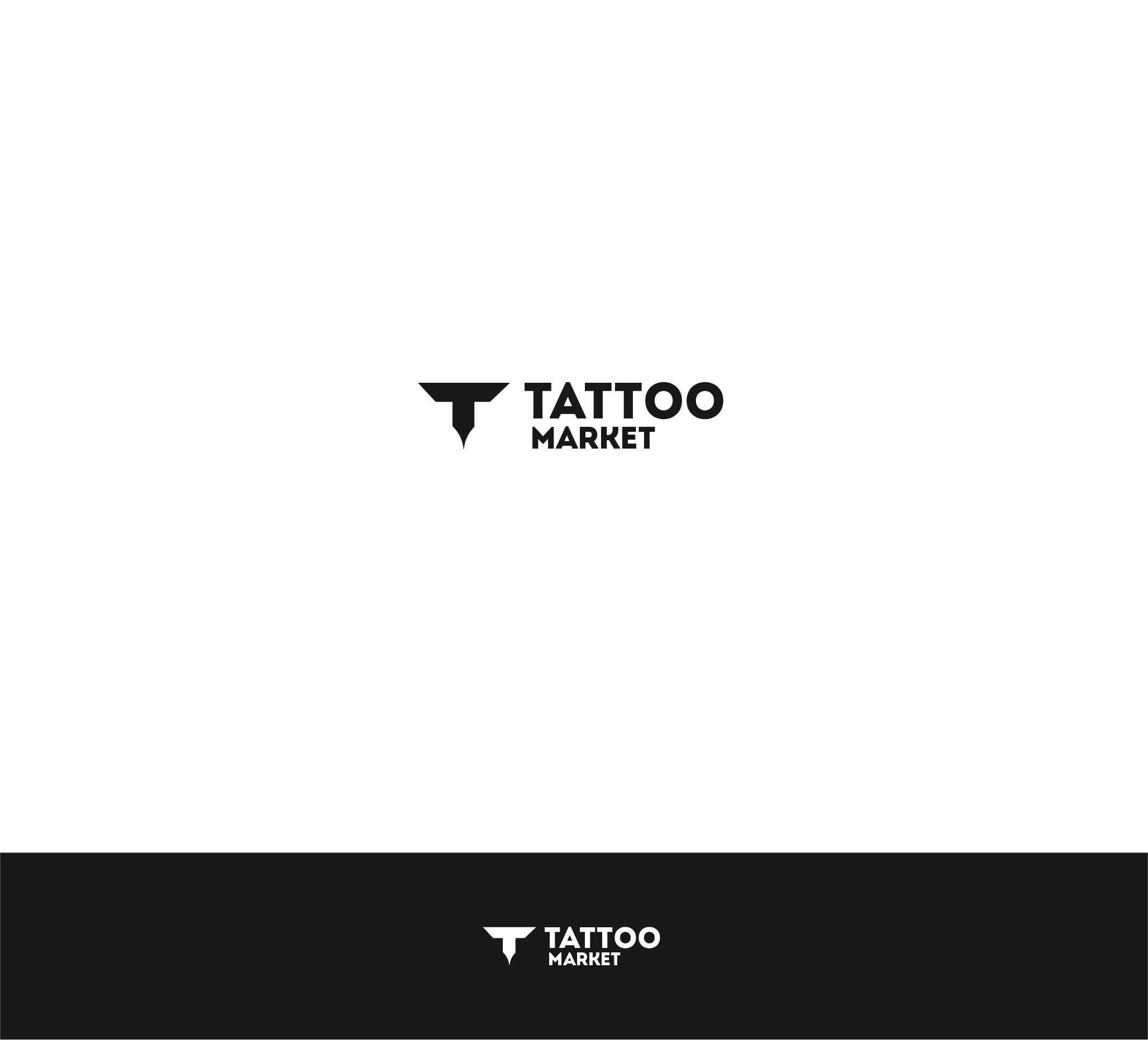 Редизайн логотипа магазина тату оборудования TattooMarket.ru фото f_1105c3af0432d293.jpg