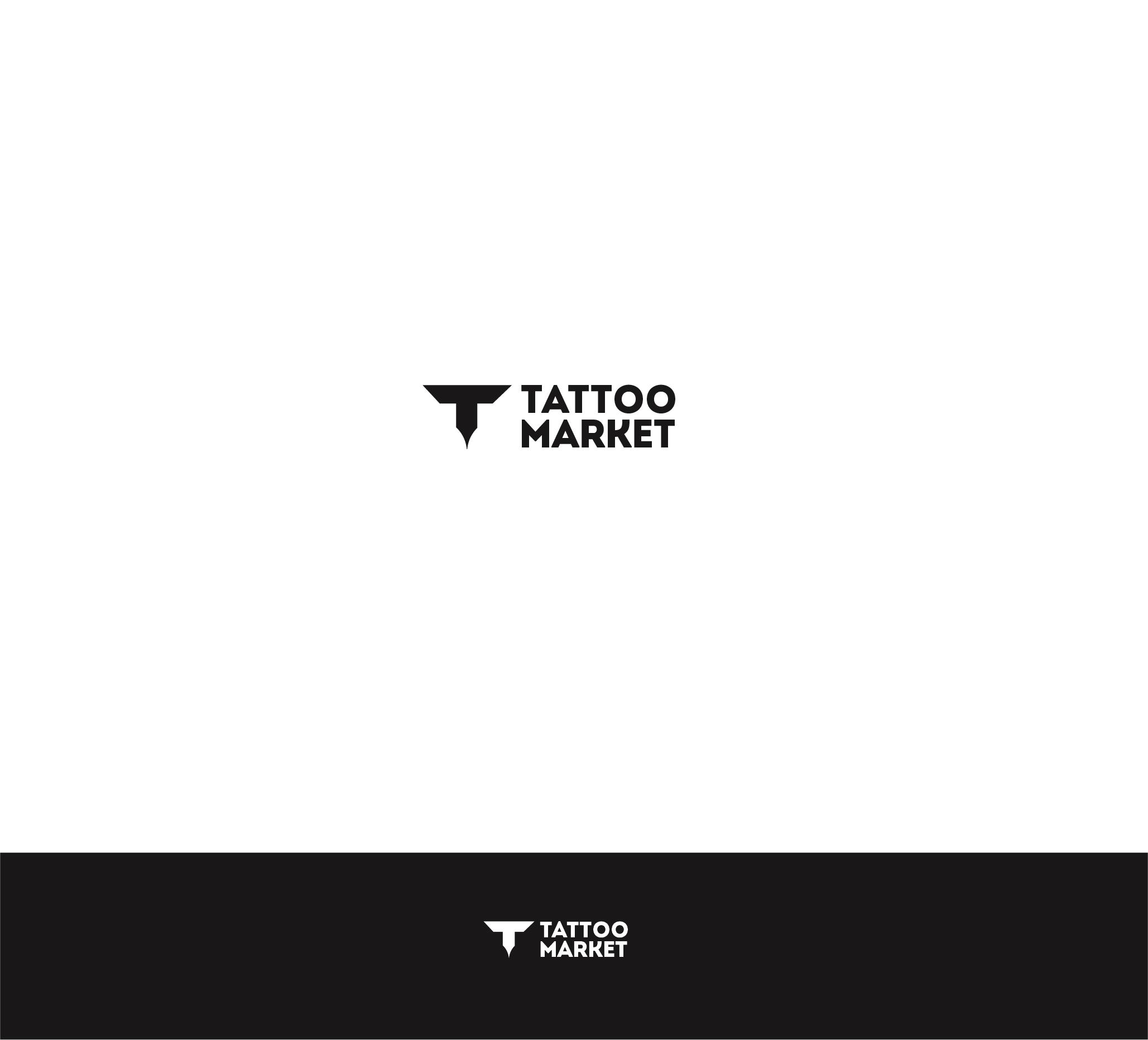 Редизайн логотипа магазина тату оборудования TattooMarket.ru фото f_3195c3c8072bef54.jpg