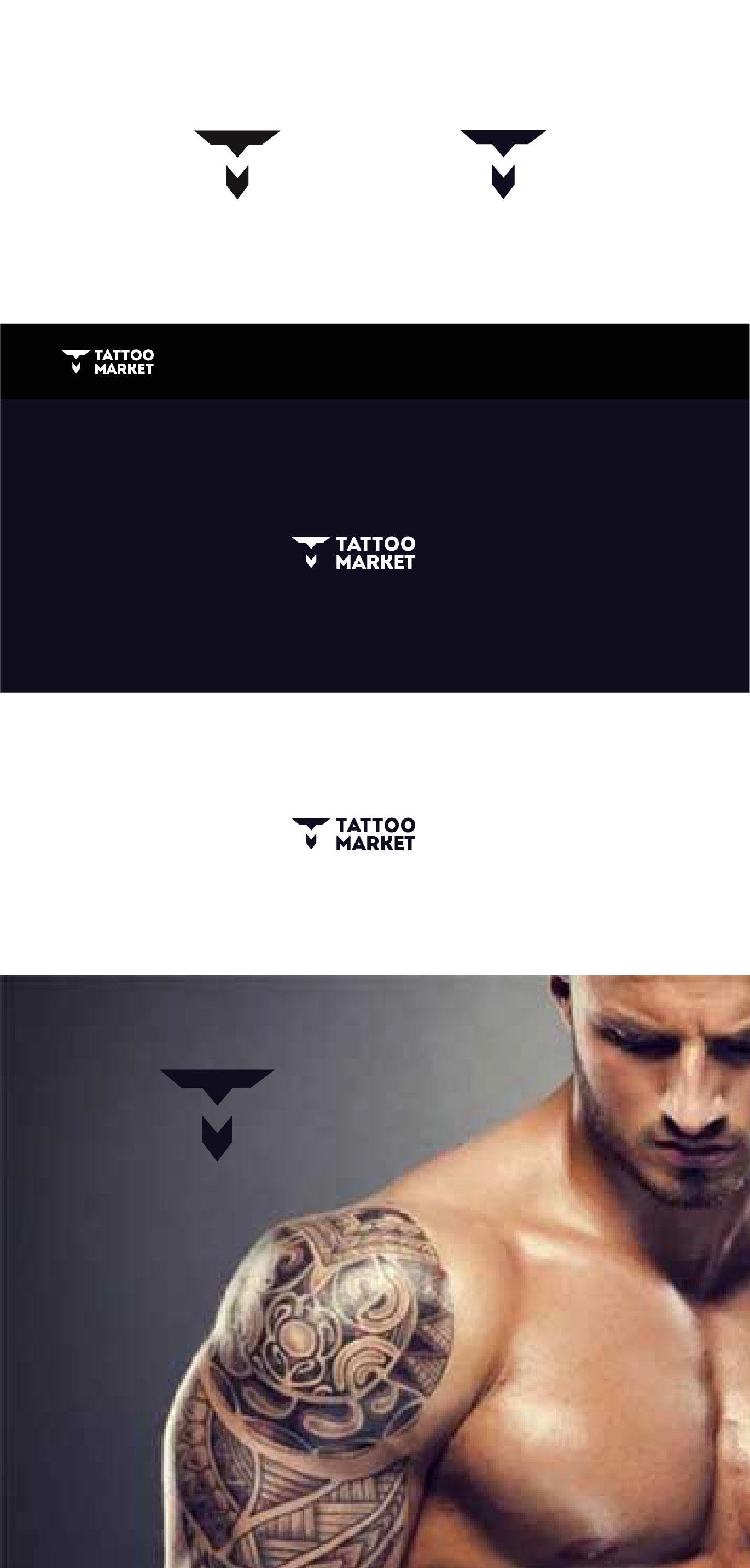Редизайн логотипа магазина тату оборудования TattooMarket.ru фото f_5035c48cdcb24c31.jpg
