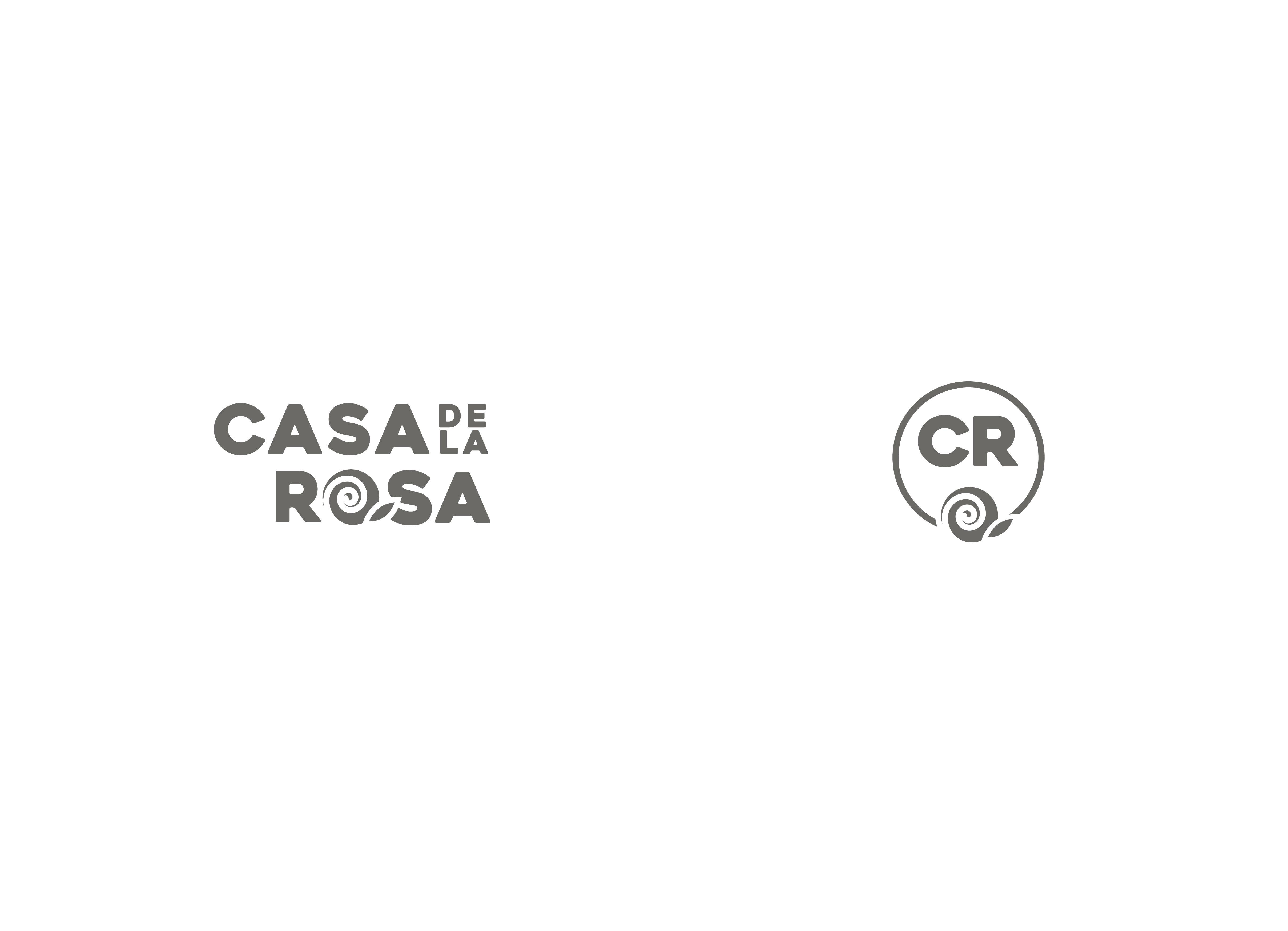 Логотип + Фирменный знак для элитного поселка Casa De La Rosa фото f_5145cd48eb2bc301.jpg