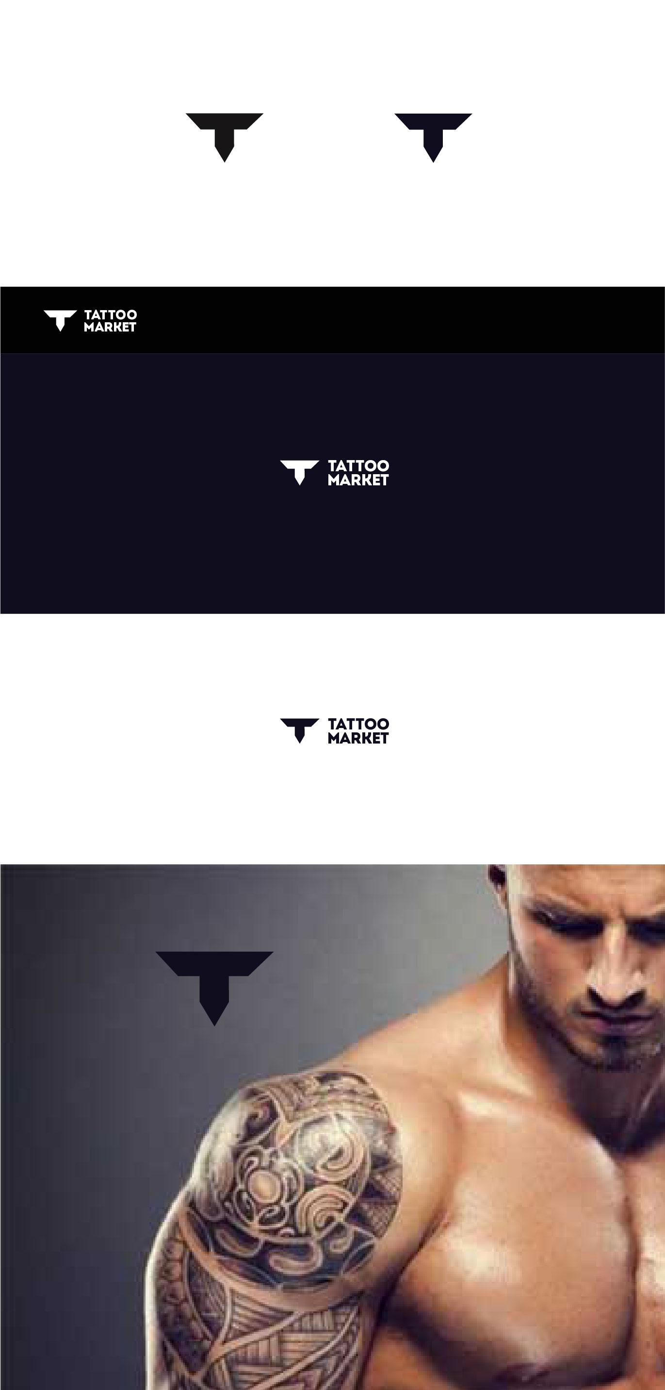 Редизайн логотипа магазина тату оборудования TattooMarket.ru фото f_5205c48cdcf04809.jpg