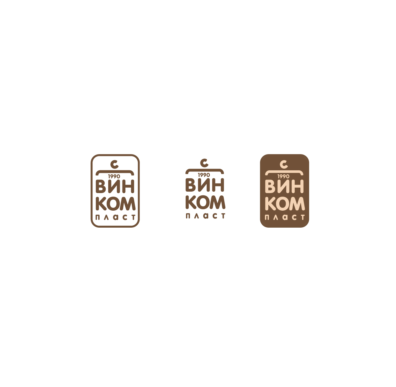 Логотип, фавикон и визитка для компании Винком Пласт  фото f_9975c385bee5120b.jpg