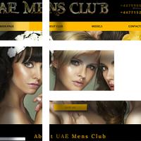 "Сайт для ""Mens Club"""