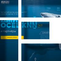 Лэндинг для программиста из топ 10 на fl.ru Дмитрия Осецкого