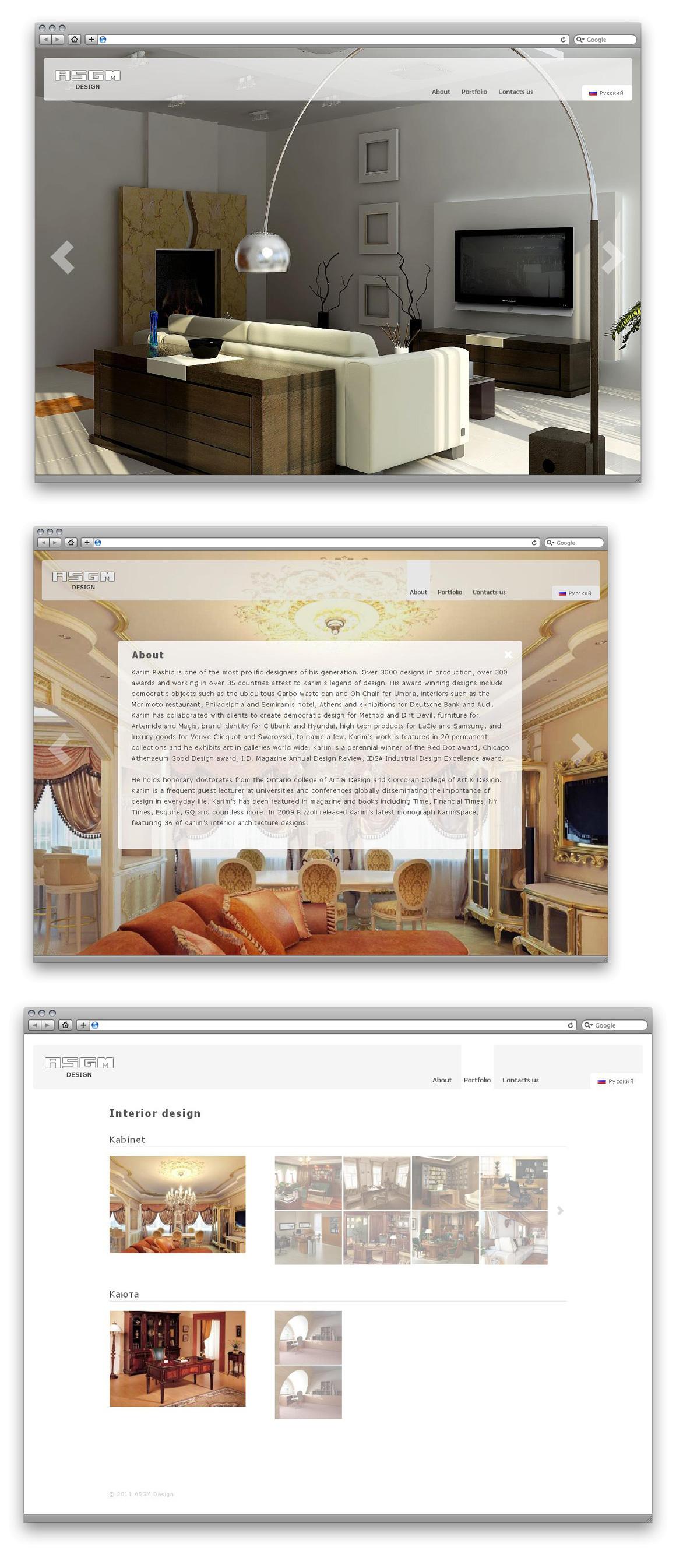 ASGM Design  ( MODx EVO)