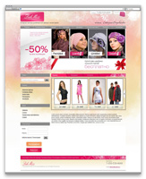 Сайт-магазин эксклюзивной одежды