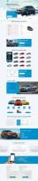 Дизайн и верстка сайта BMW (лизинг авто)