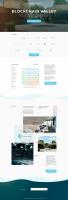 Дизайн и верстка сайта Blockchaine Valley