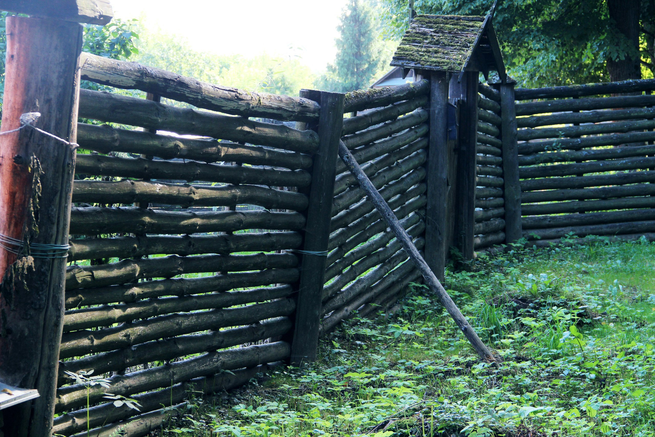 Фото: Прохудившийся забор