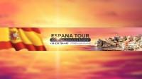 Шапка для Ютуб канала про Испанию