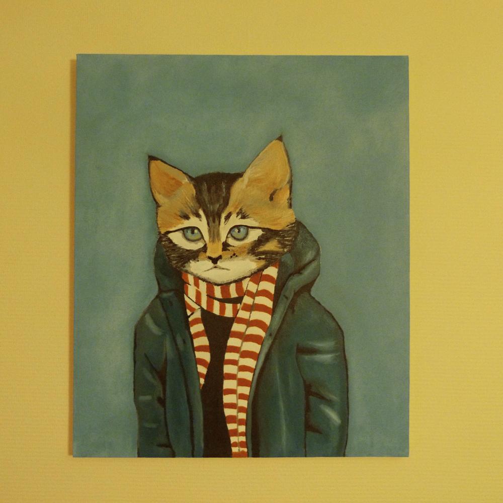 Картина Маслом 2 – Котенок