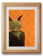 Картина Маслом - Кот