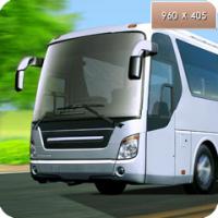 баннер - автобус и грузовик