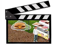 Видео-ролик на плазменные панели компани