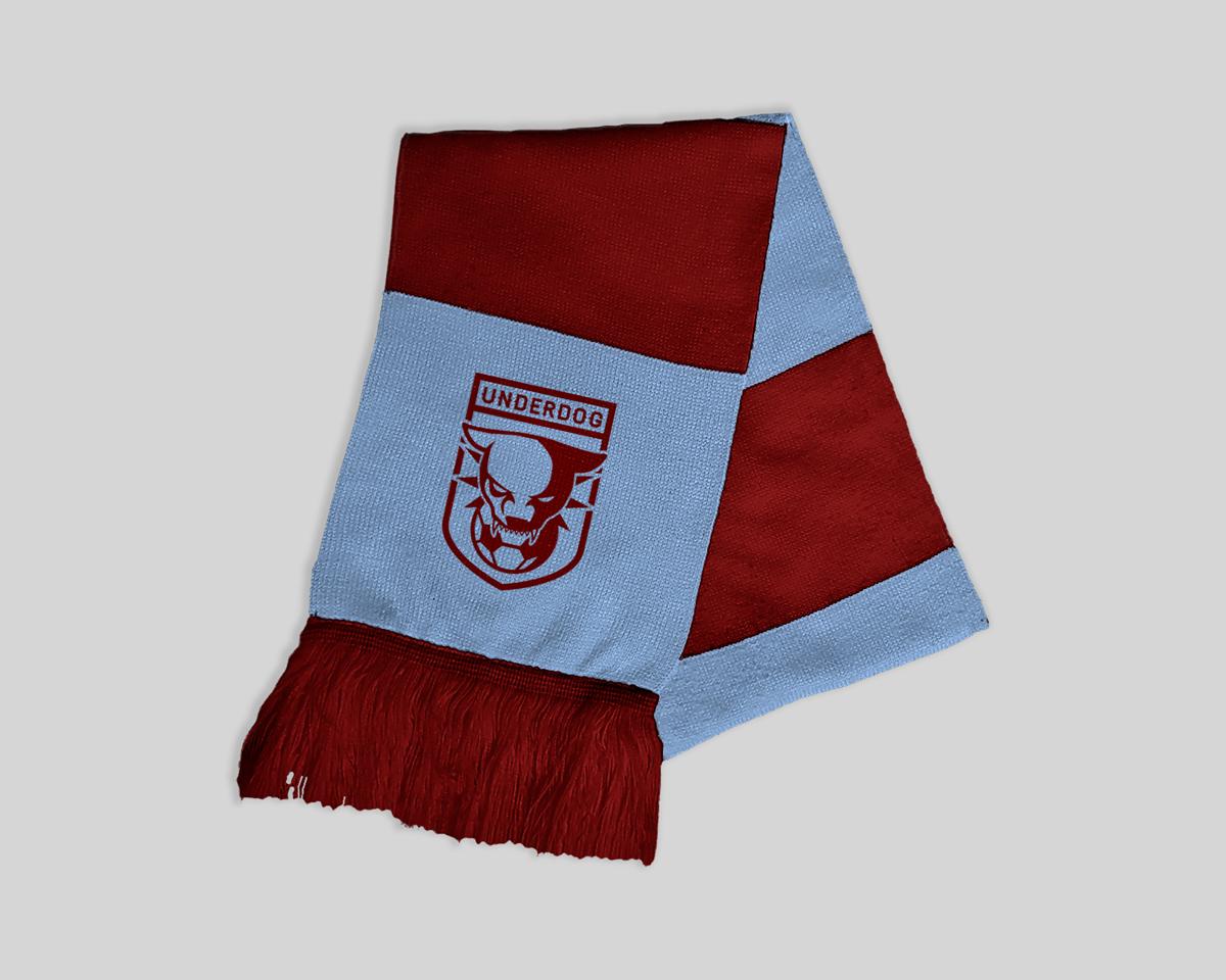 Футбольный клуб UNDERDOG - разработать фирстиль и бренд-бук фото f_1485caf510a2975b.jpg