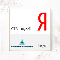 Elochkisigolochki.ru (сезон 2016 - 2017), CTR - 10,22%
