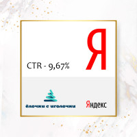 Elochkisigolochki.ru (сезон 2017 - 2018), CTR - 9,67%