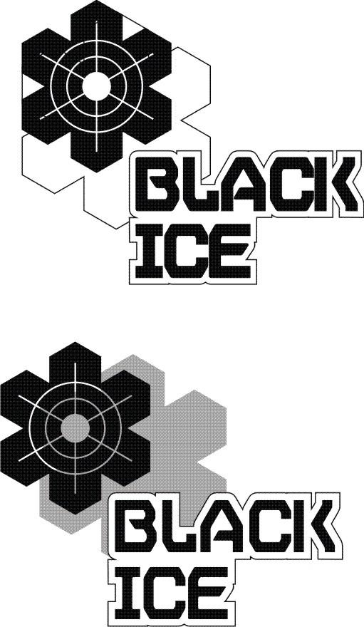 """Логотип + Фирменный стиль для компании """"BLACK ICE"""" фото f_8475717d316241e5.jpg"""