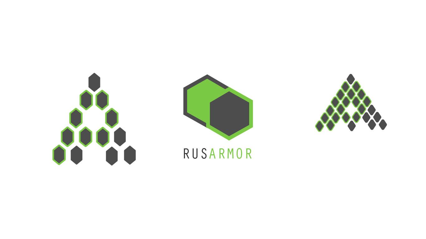 Разработка логотипа технологического стартапа РУСАРМОР фото f_1425a0ab0f4ad9e3.jpg