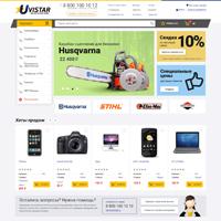 Интернет-магазин строительных товаров на OpenCart