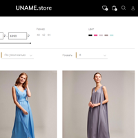 Интернет-магазин дизайнерской одежды на OpenCart