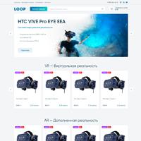 "Интернет-магазин VR очков ""Loop"" на OpenCart"