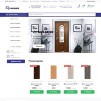 "Интернет-магазин дверей ""Ekipazh"" на OpenCart"