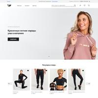 Интернет-магазин одежды на OpenCart