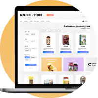 Интернет магазин → Malinki store