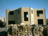 Частный жилой дом (процесс строительства)