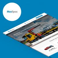 «MosSpas» (Landing Page)