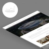 Архитектурная студия «Cassiopeia» (Промосайт)