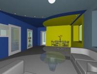 Визуализация интерьера квартиры в жилом доме