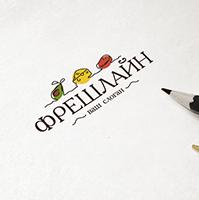"Логотип оптовой компании ""Фрешлайн"""