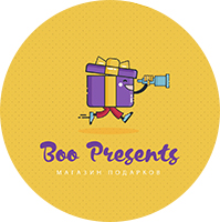 Логотип магазина подарков