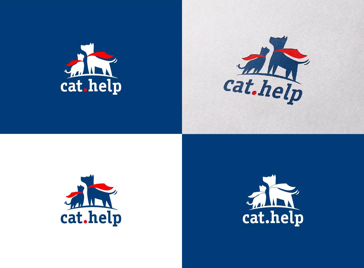 логотип для сайта и группы вк - cat.help фото f_88759dc8e5161ea9.jpg