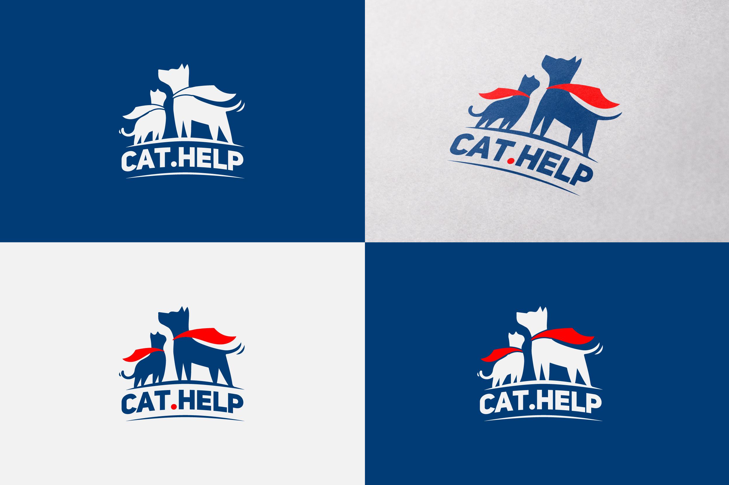 логотип для сайта и группы вк - cat.help фото f_94059dfd278c91db.png