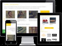 """Сайт для студии интерьерного дизайна """"Veneto ART Design"""""""