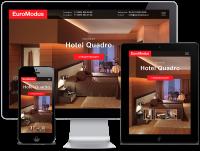 """Лэндинг для производителя мебели для отелей и гостиниц """"Euromodus"""""""