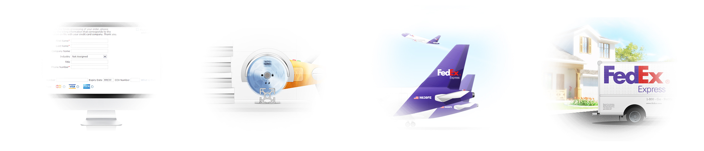 Иллюстрации для сайта FramExpert