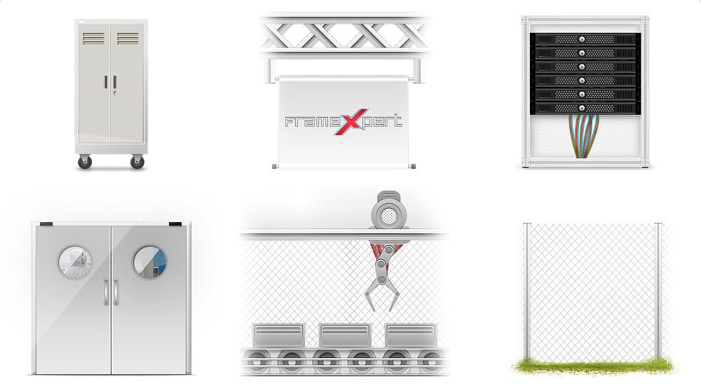 Иллюстрации для сайта FramExpert (тех )