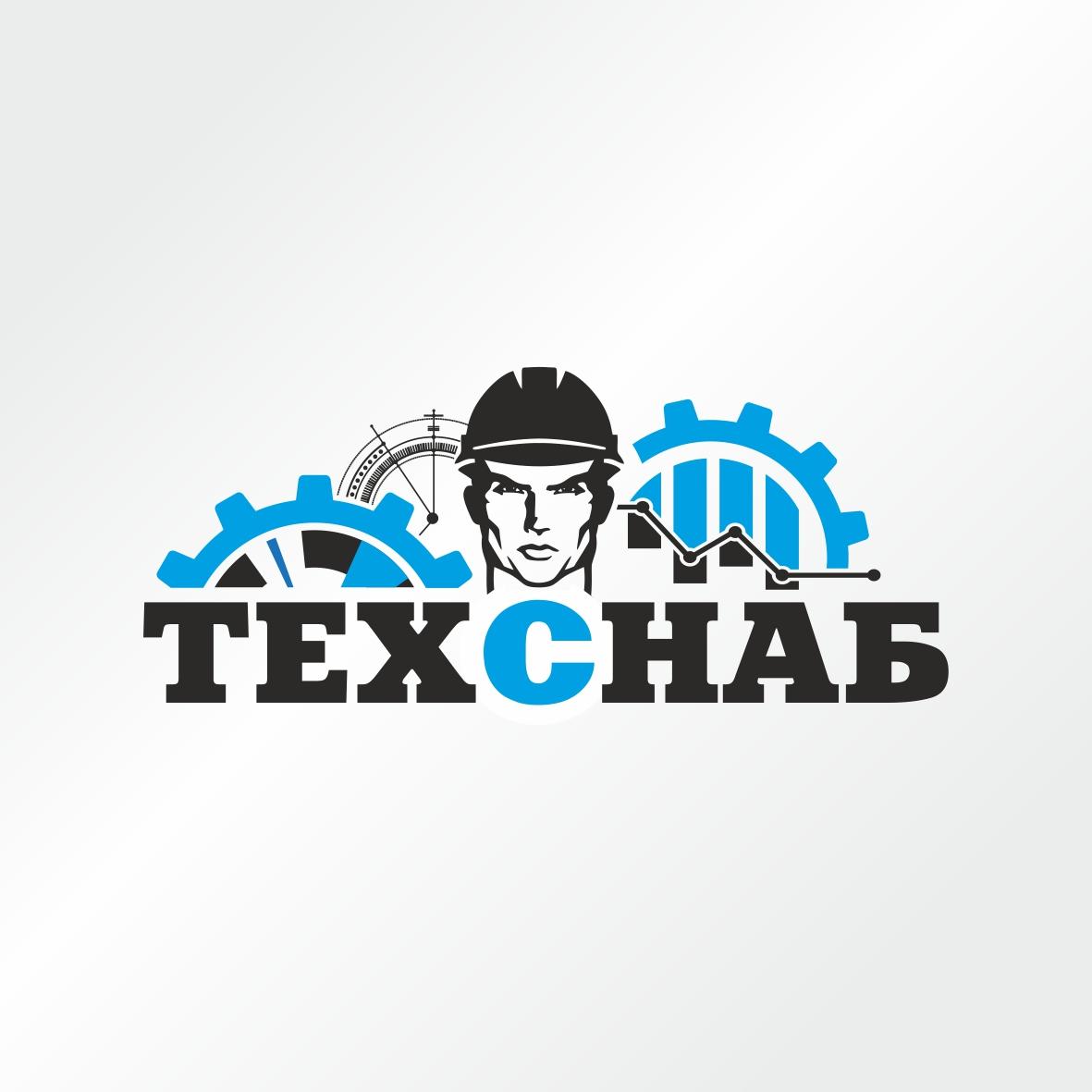 Разработка логотипа и фирм. стиля компании  ТЕХСНАБ фото f_2565b21511a3d380.jpg
