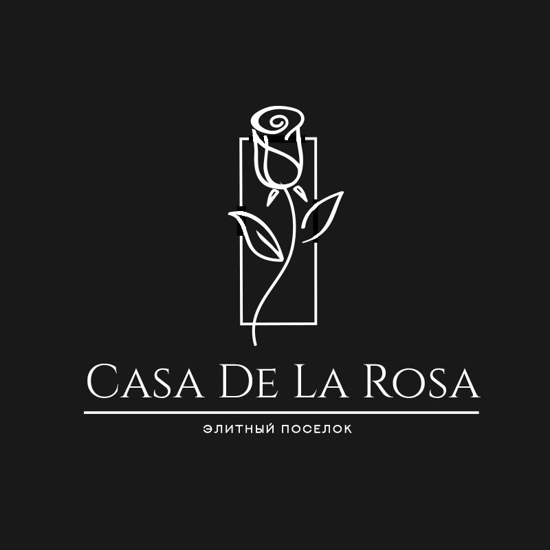 Логотип + Фирменный знак для элитного поселка Casa De La Rosa фото f_1185cd4966caf205.jpg