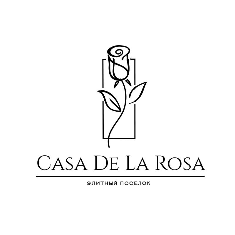 Логотип + Фирменный знак для элитного поселка Casa De La Rosa фото f_1945cd4966629844.jpg