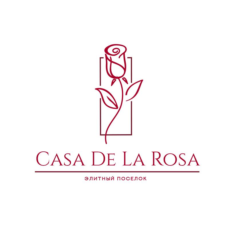 Логотип + Фирменный знак для элитного поселка Casa De La Rosa фото f_6745cd4965e05acb.jpg