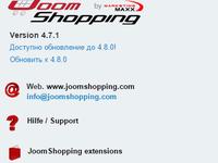 Интернет магазин на joomshoping с импортом товаров из xls