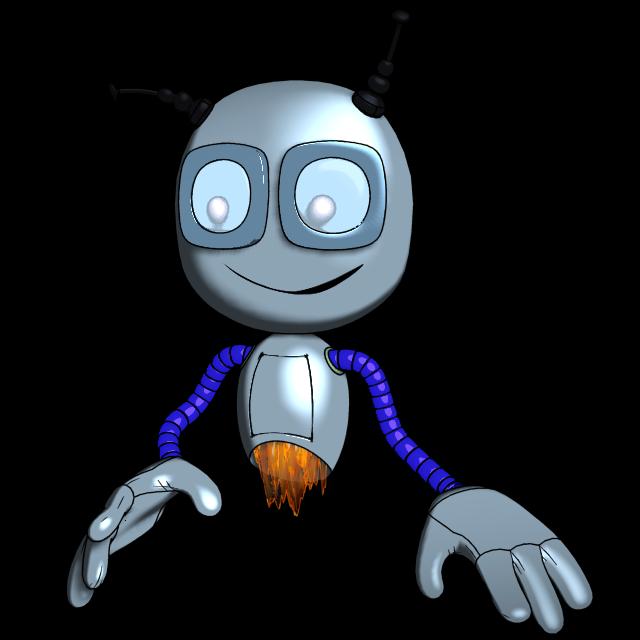 "Модель Робота - Ребёнка ""Роботёнок"" фото f_4b578dc3f2142.png"